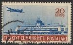 Sellos de Asia - Turquía -  Aeropuerto de Yesilkoy