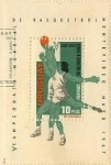 Stamps of the world : Uruguay :  Vº CAMPEONATO MUNDIAL DE BASQUETBOL. MONTEVIDEO, MAYO 1967