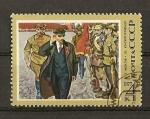 Sellos de Europa - Rusia -  107 Aniversario del nacimiento de Lenin