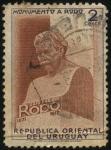 Sellos de America - Uruguay -  Monumento a José Enrique Rodó en Montevideo.