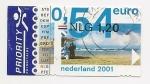 Stamps Netherlands -  Europa (sello con vista a paisajes)