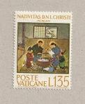 Sellos de Europa - Vaticano -  Nacimiento de Cristo