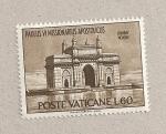 Sellos de Europa - Vaticano -  Pablo VI, misionero apostólico, Bombay