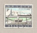 Stamps Belgium -  Túnel Amberes