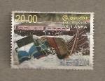 Stamps Asia - Sri Lanka -  Tsunami 2004