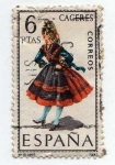 Stamps Spain -  CACERES