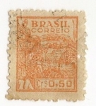 Stamps Brazil -  Agricultura