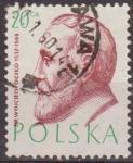 Sellos de Europa - Polonia -  Polonia 1957 Scott 770 Sello Retratos Doctores Wojciech Oezko Usado Polska Poland Polen Pologne