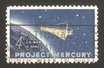 Stamps of the world : United States :  725 - Cápsula espacial Mercury