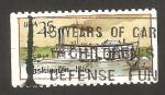 Stamps United States -  1857 - Barco a vapor Washington de 1816