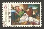 Stamps United States -  1148 - Navidad, Cuadro de Copley