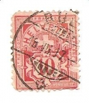 Stamps Switzerland -  correo terrestre