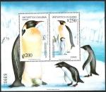 Stamps America - Chile -  ANTARTICA CHILENA - PINGUINO EMPERADOR