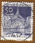 Sellos de Europa - Alemania -  PUERTA - ELLWANGEN-JAGST