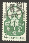 Stamps United States -  congreso forestal mundial en seattle