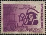 Sellos de America - Uruguay -  Explore las Américas. Año del turismo de las Américas.