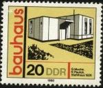 Stamps Europe - Germany -  La Bauhaus, escuela de arte y arquitectura. Casa de familia 1926. Arquitectos Muche y Paulick.