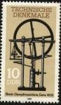 Sellos de Europa - Alemania -  Máquina de vapor  BOCK GERA año 1833.
