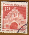 Stamps Germany -  PUERTA - FLENSBURG-SCHLESWIG