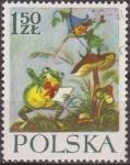 Sellos de Europa - Polonia -  Polonia 1962 Scott 1107 Sello Nuevo Escena Cuento Orphan Mary and the Dwarfs by Maria Konopnicka