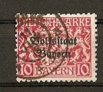 Stamps Europe - Germany -  Baviera / Bolfsftaat Bayern / Servicio