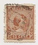 Stamps Netherlands -  Princesa Wilhelmina