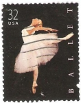 Stamps United States -  ballet