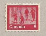 Stamps Canada -  Esquiadores