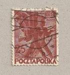 Sellos de Europa - Polonia -  Soldados