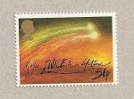 Stamps United Kingdom -  Cometa Halley