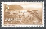 Stamps : Europe : Spain :  MARRUECOS (zona norte, independiente) 2 ,Puerto de Villasanjurjo.