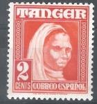 Stamps : Europe : Spain :  TANGER  152.  Indígena.