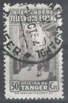 Stamps : Europe : Spain :  Huerfanos de Telégrafos. Oficina de Tánger.