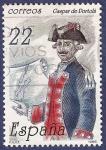 Stamps Spain -  Edifil 2866 Gaspar de Portolá 22