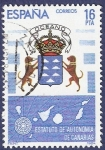 Stamps Spain -  Edifil 2737 Estatuto de autonomía de Canarias 16