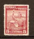 Sellos de America - Paraguay -  HOMENAJE   AL   PYNANDI