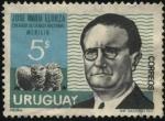 Stamps Uruguay -  José María Elorza. Creador de la raza ovina nacional MERILIN.