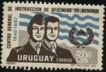 Stamps Uruguay -  25 años del Centro general de Instrucción de Oficiales de Reserva.