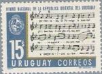 Stamps of the world : Uruguay :  Himno nacional de Uruguay