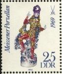 Sellos de Europa - Alemania -  Estatuilla de porcelana de Meissen de 1969.