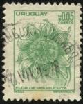 Sellos de America - Uruguay -  Flor del Mburucuyá.