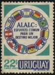 Stamps of the world : Uruguay :  Asociación Latinoamericana de Libre Comercio.