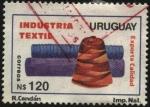 Sellos de America - Uruguay -  Industria Textil. Uruguay exporta calidad.