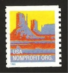 Stamps United States -  Montes
