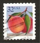 Sellos de America - Estados Unidos -  fruta, melocotón