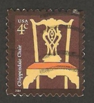 Stamps of the world : United States :  3546 - Silla Chippendale