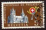 Sellos de Europa - Suiza -  Exposicion Nacional de Filatelia