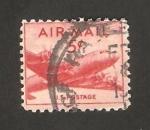 Stamps United States -  avión douglas dc-4