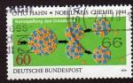 Stamps Germany -  Premio Nobel de Quimica Otto Hahn