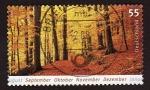 Stamps Germany -  Paisaje otoñal